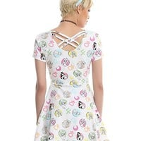 Sailor Moon Icons Crossback Dress