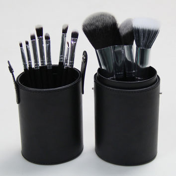 Make-up Hot Sale On Sale Beauty Hot Deal 12-pcs Black Environmental Make-up Brush [6050160833]