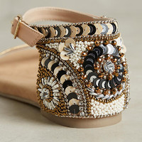 Ne Quittez Pas Beaded Sandals