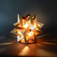 Starburst Illuminated sculptures