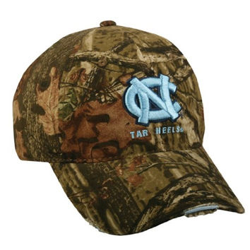 Mossy Oak Break Up Infinity College Football Hats North Carolina