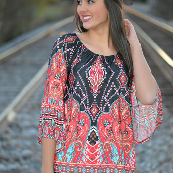 Bohemian Princess Tunic Top