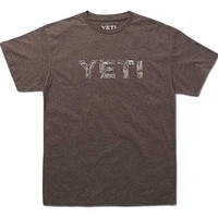 Yeti Topo T-Shirt for Men in Vintage Brown TOPO