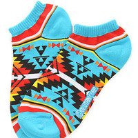 Native Ankle Socks in Blue