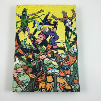 X-Men Wall Art - X-Men Comic Book Cover Hanging Picture - One of a Kind