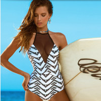 Fashion Summer Sexy Slim Bodycon Swimsuit Bathing Suit Bikini Beach wears = 6002246721