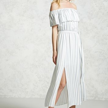 Contemporary Flounce Maxi Dress