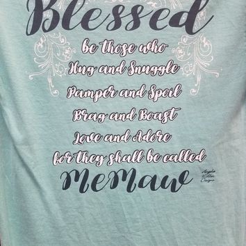 Blessed Grandmother Shirts