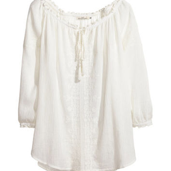 Peasant Blouse - from H&M