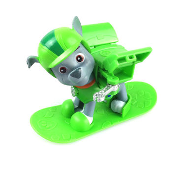 AUTOPS Hot Patrol Dog With Skis Anime Toys Action Figure dog Kid Toy Puppy Patrol Patrulla Canina Toys For Child Gift