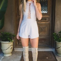 High Beam Playsuit in Eclipse - New Arrivals