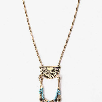 Feather Chime Necklace