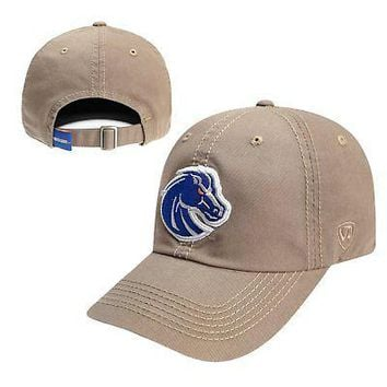 Licensed Boise State Broncos Official NCAA Adjustable Crew Hat Cap by Top of the World KO_19_1