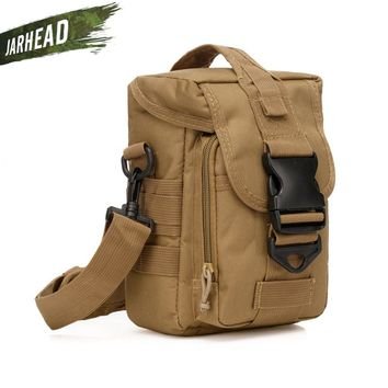 Tactical Military Small Utility Pouch Pack Army Molle Sport Crossbody Shoulder MOLLE Outdoor Cycling Camping Hiking Climbing Bag