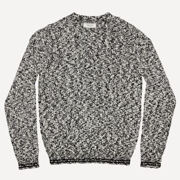 Multi Tone Crew Neck Sweater
