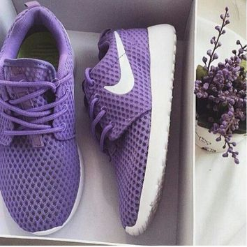 """NIKE"" rose Trending Fashion Casual Sports Shoes Purple"