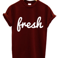 Fresh loose t shirt