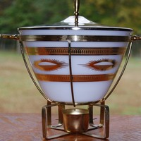 Fred Press Fire King Chafing Dish