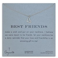Dogeared 'Best Friends' Open Heart Necklace | Nordstrom