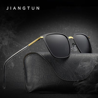 Unisex Retro Alloy Sunglasses Polarized Lens Vintage Eye wear Accessories Sun Glasses For Men Women
