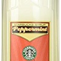 Starbucks Peppermint Syrup (1-L.)