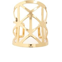 GEO CAGED CUT-OUT CUFF