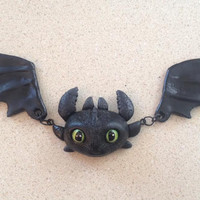 Toothless Necklace