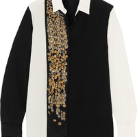 Camicia Boyfit embellished silk shirt   ETRO   Sale up to 70% off   THE OUTNET