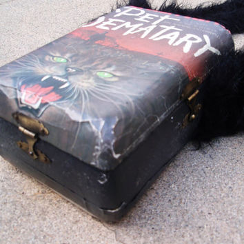 Pet Semetary Cigar Box Purse