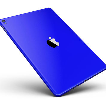 """Solid Royal Blue Full Body Skin for the iPad Pro (12.9"""" or 9.7"""" available)"""