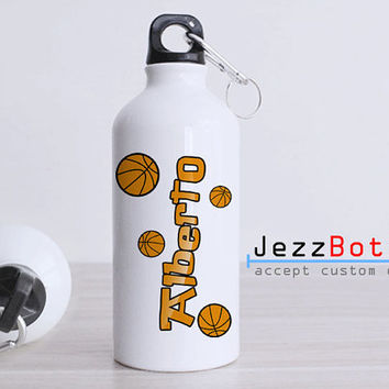 Personalized Basketball Ball - Bottle Sport - Custom Water Bottle -  Club Bottle Sport - Include Name