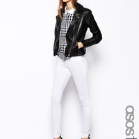 ASOS TALL Ridley Skinny Jeans in White