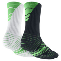 Nike Dri-FIT Performance Crew Football Socks (Large/2 Pair)