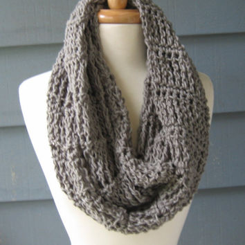 Striped Infinity Scarf 66 Inches Crochet From Artsycrochet On