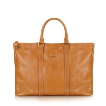 Bric's Designer Handbags Life Leather - East/West Tote Bag