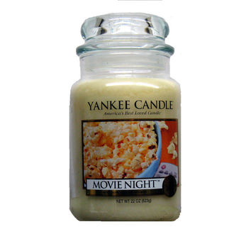 Limited Edition Yankee Candle MOVIE NIGHT Large 22 oz. Jar