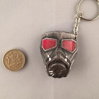 Fallout Style NCR Ranger Faceplate Keyring