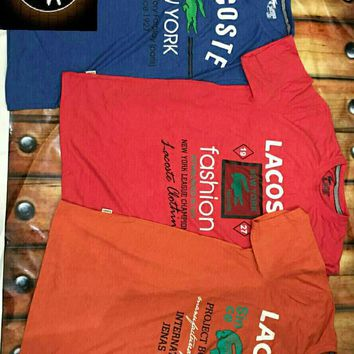 Lacoste T-Shirt-Combo Pack