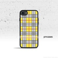 Plaid Yellow Phone Case Cover for Apple iPhone iPod Samsung Galaxy S & Note