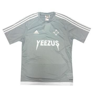 Adidas x Yeezus Soccer Jerseys in Grey