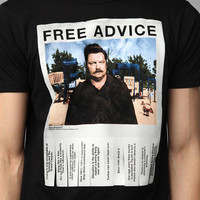 Urban Outfitters - Ron Swanson Free Advice Tee