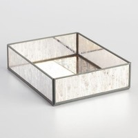 Mirror and Metal Annabella Paper Tray