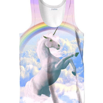 Unicorn Sublimated Tank Top