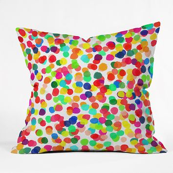Rebecca Allen A Celebration 1 Throw Pillow