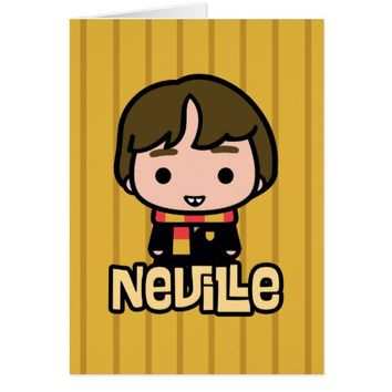 Neville Longbottom Cartoon Character Art Card