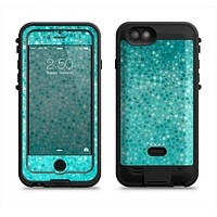 The Turquoise Mosaic Tiled Apple iPhone 6/6s LifeProof Fre POWER Case Skin Set