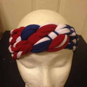 Sailor knot headband-Celtic Knot headband-nautical knot Memorial Day from Nicole Ray