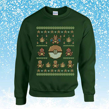 Pokemon Gotta Stitch Ugly Christmas Sweater sweatshirt unisex adults