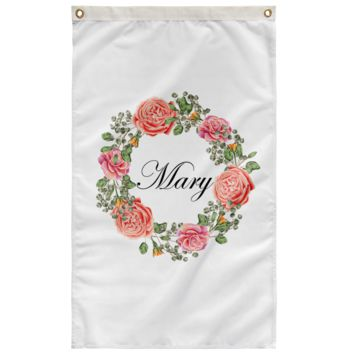 "Mary - Wall Flag 36""x60"""