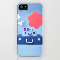 Travel Love iPhone & iPod Case by Pink Berry Pattern